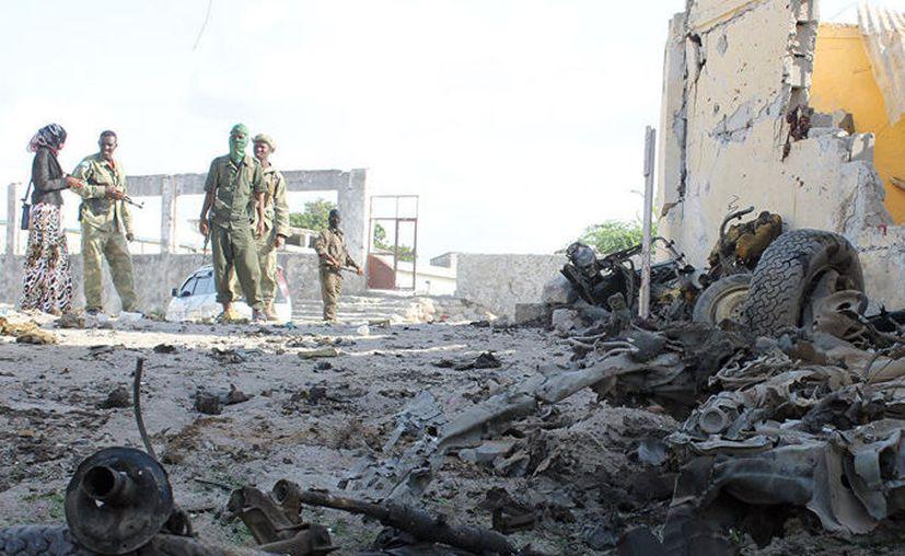 Al menos 11 soldados y decenas de extremistas murieron en un ataque terrorista. (Contexto/Internet).