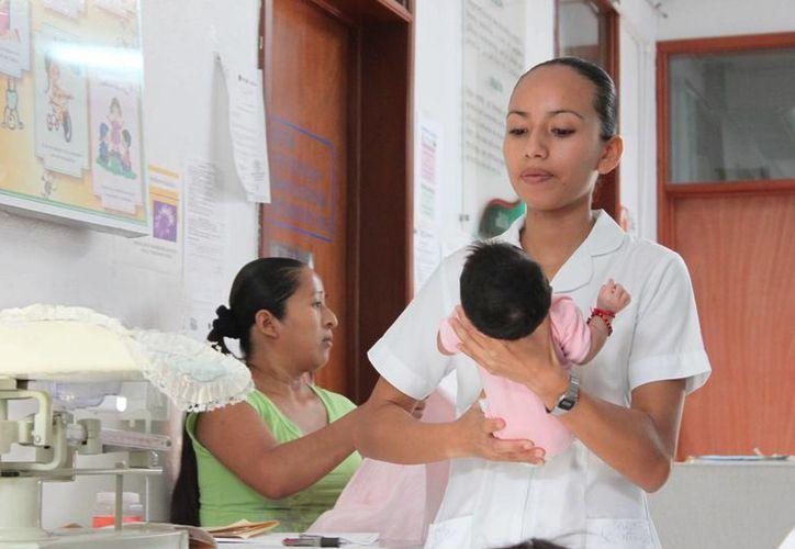 El hospital contará con la especialidad de pediatría. (Javier Ortiz/SIPSE)