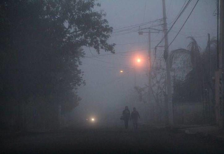 En Mérida este sábado y domingo las temperaturas mínimas serán de entre 12 y 15 grados, pero en algunas localidades del sur bajarán hasta 10. (SIPSE)