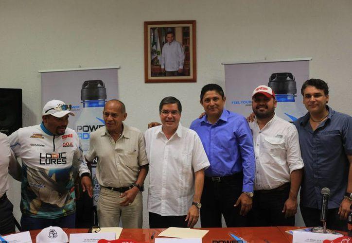 Organizadores detallaron el !er Torneo de Pesca Deportiva San Felipe. (Milenio Novedades)