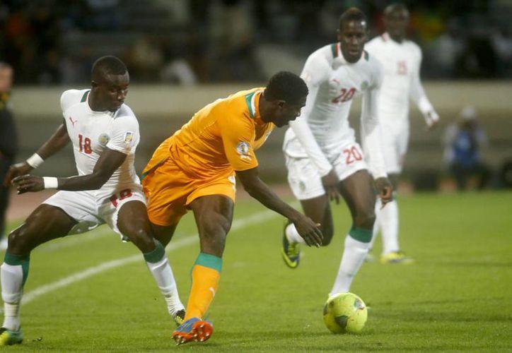 El cuadro marfileño se clasificó por tercera ocasión consecutiva a una justa mundialista. (Agencias)