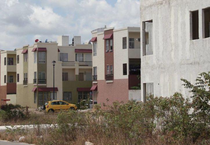 Los subsidios para las viviendas están asegurados para el próximo año. (Israel Leal/SIPSE)