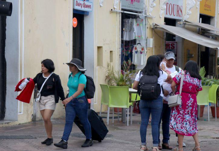 Para este lunes se prevé que el Frente frío No. 19 se ubique frente a la Península de Yucatán. (Novedades Yucatán)