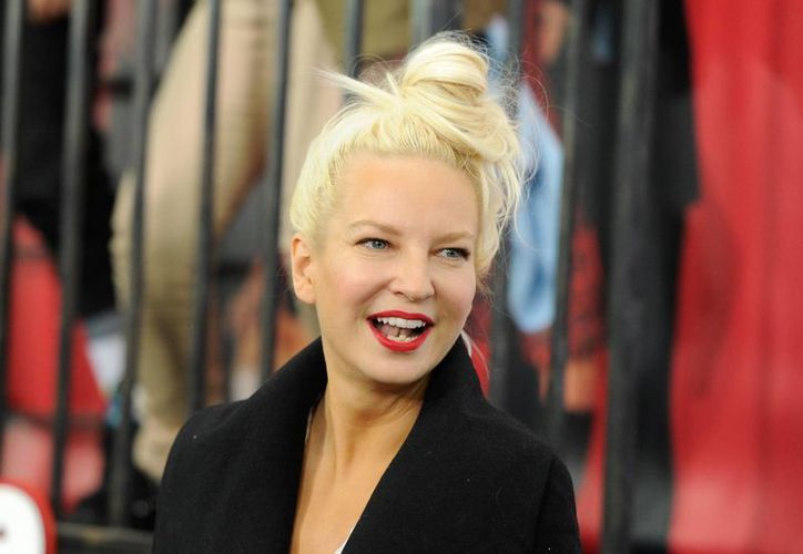 Sia, en foto del 7 de diciembre del año pasado, durante la premier del filme Annie, en Nueva York. (Foto: AP)