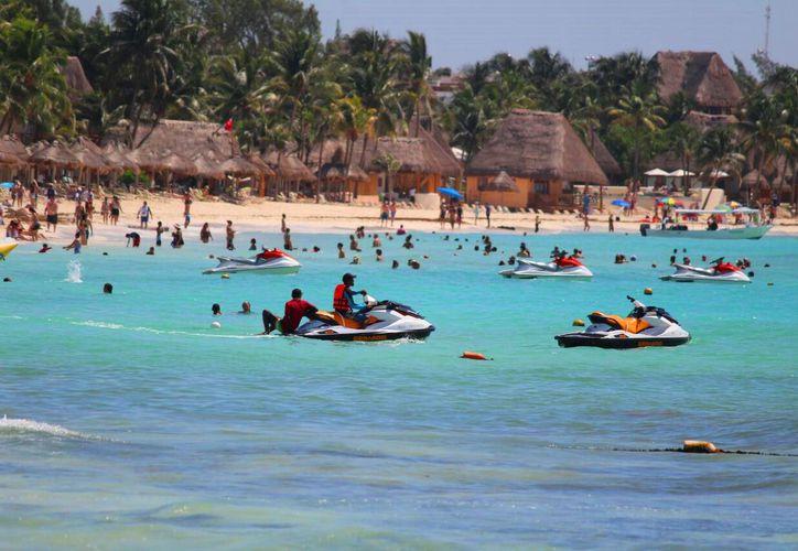 Incrementa la demanda de las actividades turísticas en el destino. (Daniel Pacheco/SIPSE)
