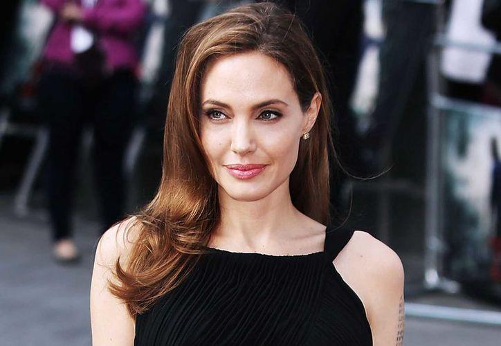 Jolie concluyó su visita con una reunión privada con el presidente Dr. Hage Geingob. (Contexto)