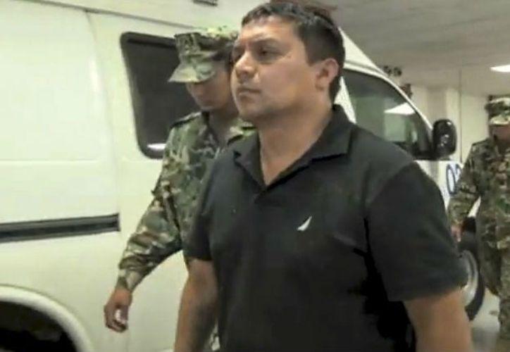 El Z40 fue detenido por elementos de la Marina durante un operativo sorpresa en Anáhuac, Nuevo León. (Animal Político).