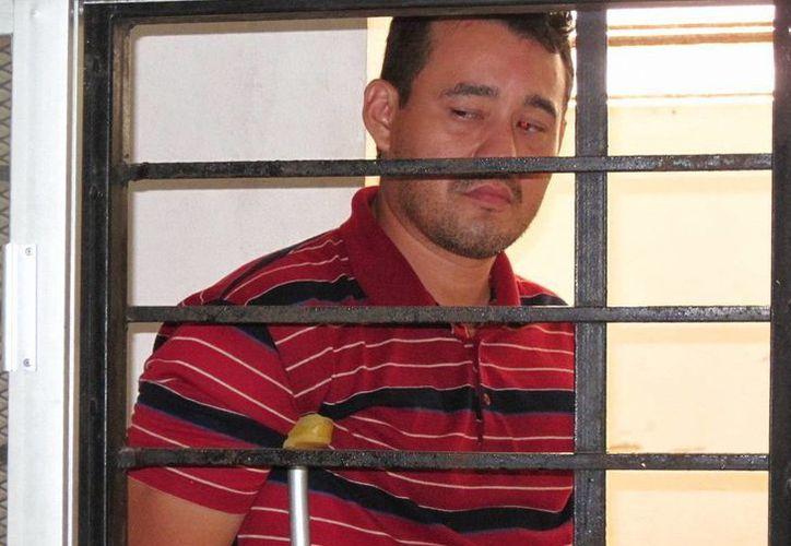 David Alonso Euán Sánchez aceptó ser un alcohólico, pero no ladrón. (Francisco Puerto/SIPSE)