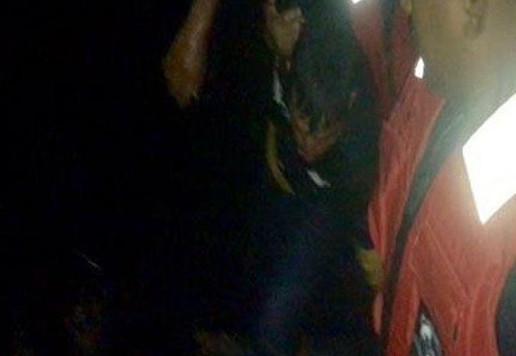 Pese a las 72 horas a la deriva, el hombre de mar fue hallado en buen estado, aunque lo enviaron a un hospital para revisión (Fotos cortesía)