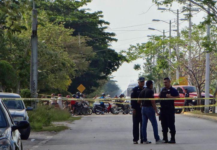 Vecinos de la zona refirieron temer por su integridad física. (Foto: Gustavo Villegas/SIPSE).