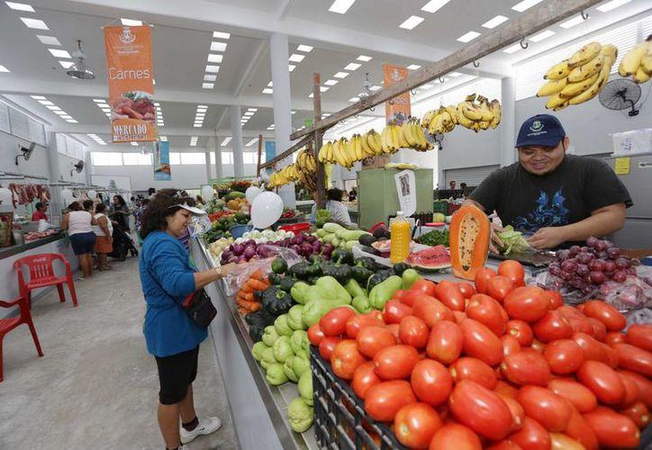 La inversión en el remozamiento del mercado de Chen Bech fue de 6 millones 324 mi 275 pesos. (SIPSE)