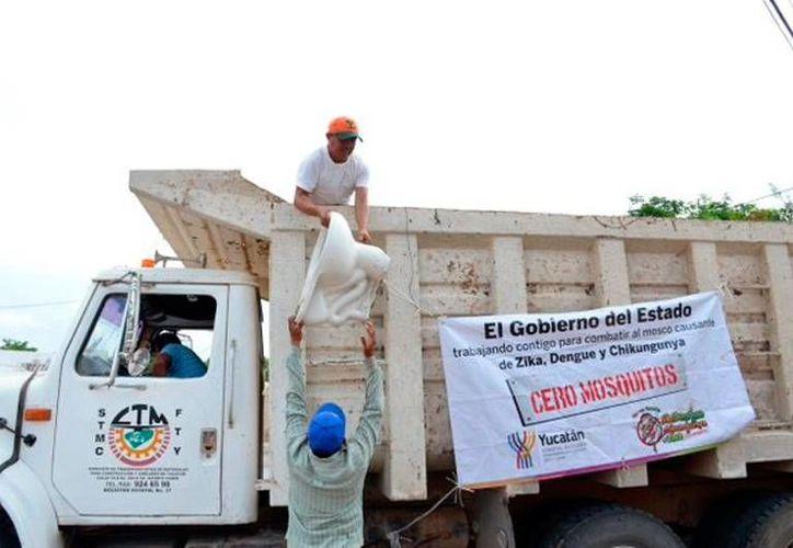 La recolección de cacharros en Yucatán sumó 600 toneladas, dentro de la segunda etapa del programa. (Milenio Novedades)