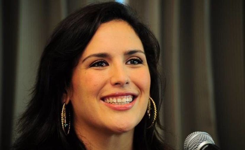 Angélica Vale regresó a las telenovelas con 'La Fan'; su última participación en los melodramas fue en 'La fea más bella', hace 10 años.(Notimex)