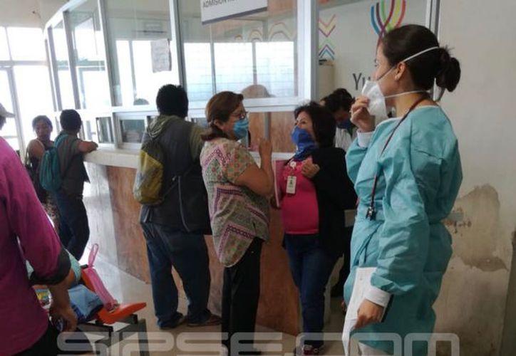 En los hospitales públicos de Yucatán se están tomando medidas preventivas ante el repunte en los casos de influenza. (Milenio Novedades)