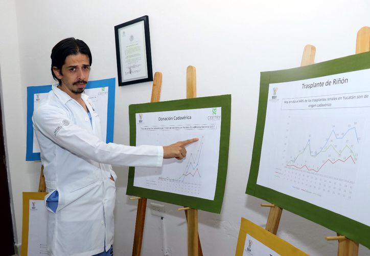 Jorge Martínez Ulloa Torres, director del Centro Estatal de Trasplantes. (Foto: Jorge Acosta/ Milenio Novedades)