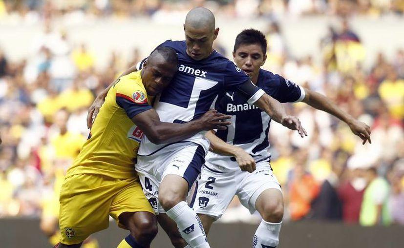 Después de vencer a Pumas de la UNAM, las Águilas se preparan para enfrentar a los rayados del Monterrey. (Archivo Notimex)