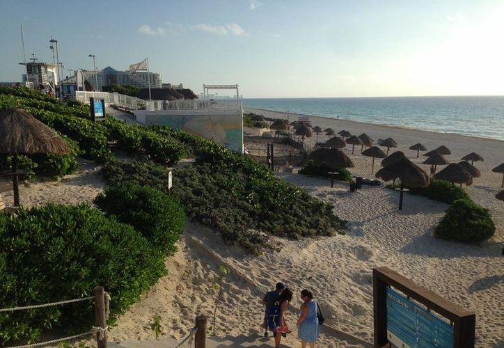 Quintana Roo tiene ocho certificaciones de bandera azul, de las cuales seis se localizan en Cancún. (Israel Leal/SIPSE)