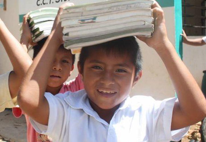 En el proyecto colabora la Uady con con alumnos de educación indígena. (Milenio Novedades)