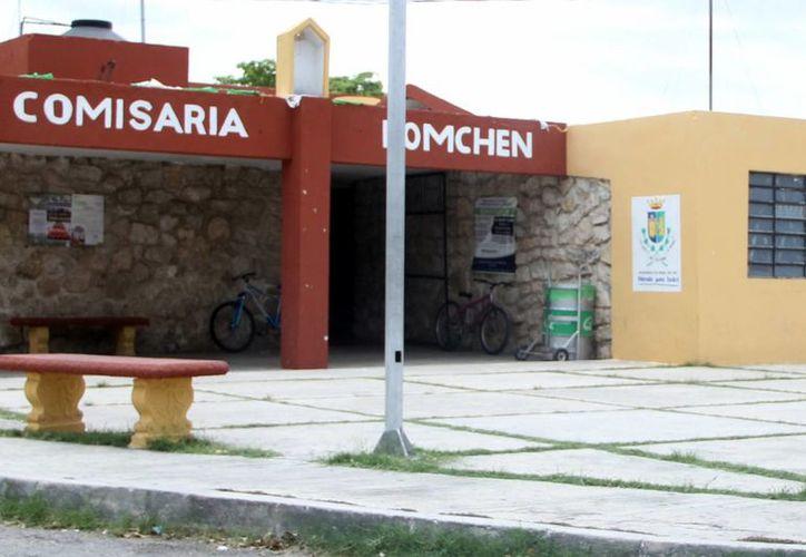 Imagen de la comisaría de Komchen, una de las comunidades donde se realizará las elecciones de comisarios municipales que se llevarán a cabo el domingo 22 de noviembre. (Milenio Novedades)