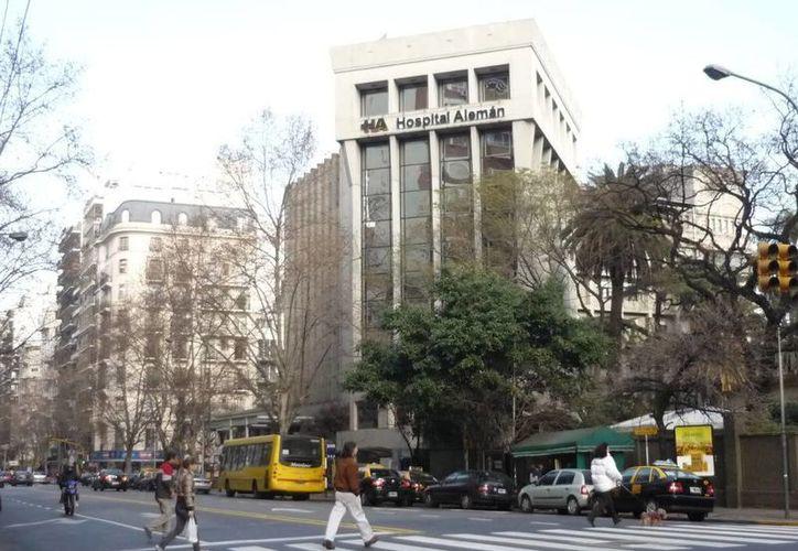 La joven es atendida en el hospital Alemán de Buenos Aires, donde se informa que sufrió quemaduras profundas. (ciudadbaires.com.ar)