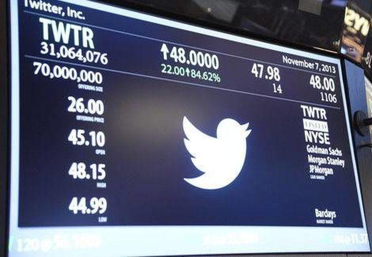 El interés por las acciones de Twitter esta fundamentado en los ingresos que reportó la empresa en 2013: 660 millones de dólares. (EFE/Contexto)