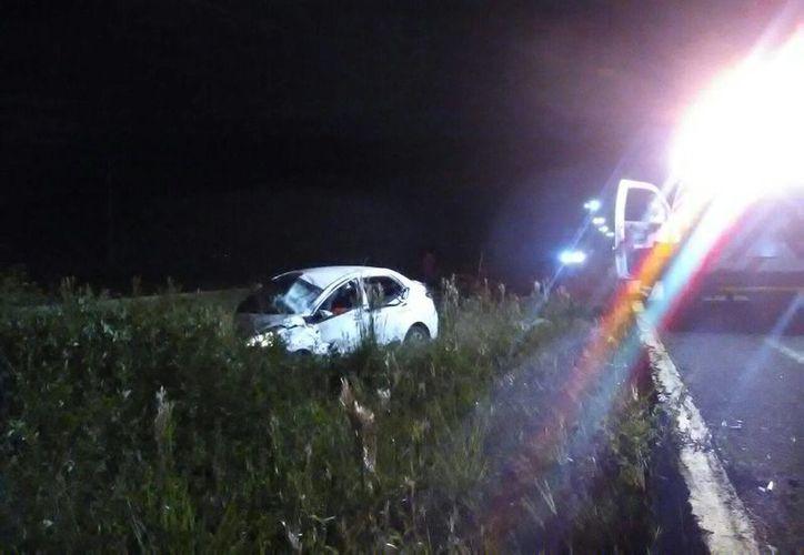 Un accidente en la carretera Playa del Carmen - Puerto Morelos dejó como saldo una persona sin vida. (Redacción/SIPSE)