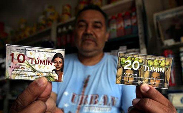 El túmin fue creado en Veracruz como una forma de hacer frente a las dificultares económicas de las comunidades. (Excélsior)