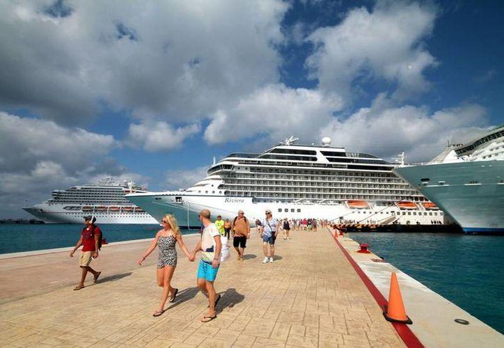 Los cruceros están programados del 21 al 27 de octubre. (Redacción/SIPSE)
