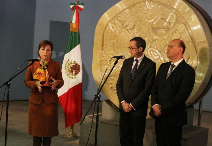 En el marco de la 25 Reunión de Embajadores y Cónsules de México en el mundo, la secretaria de Desarrollo Social, Rosario Robles, reconoció que la reducción de la mortalidad materna no podrá ser cumplido en México en 2015. como se había previsto. (Notimex)