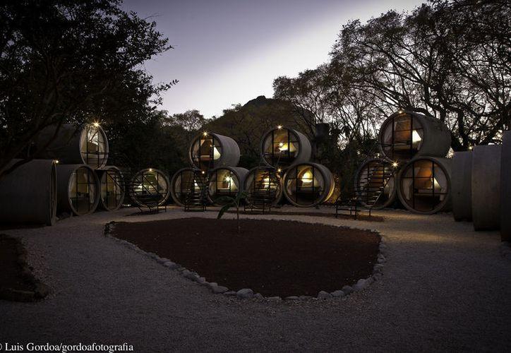 Tubohotel en Morelos, ofrece a sus huéspedes un acercamiento con la naturaleza y la ecología. (Foto: Luis Gordoa)