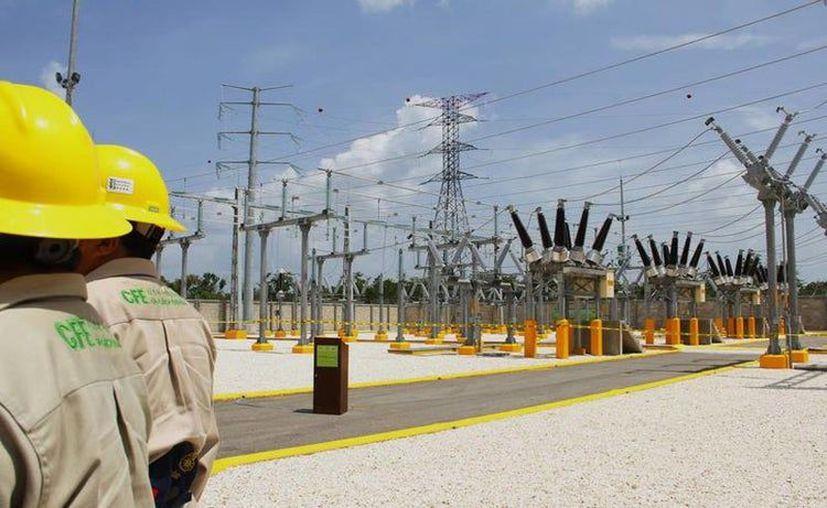 Los trabajos se realizarán en la subestación eléctrica Ucú, que alimenta a nueve mil 679 casas. (Archivo/Sipse)