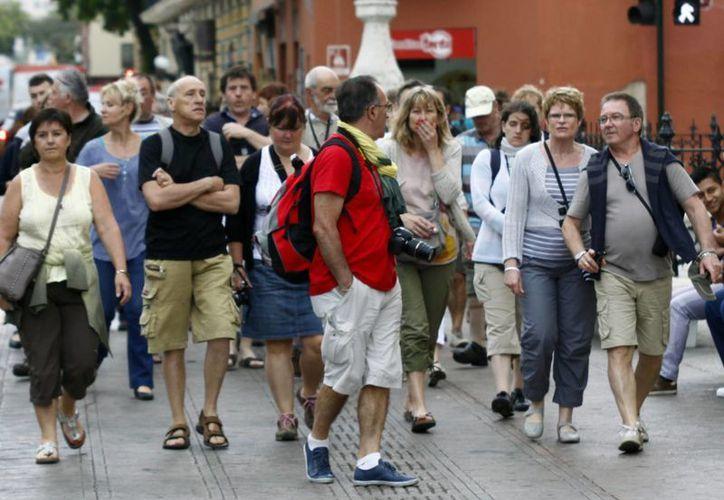 Expertos en turismo venden a Yucatán en el extranjero. (Milenio Novedades)