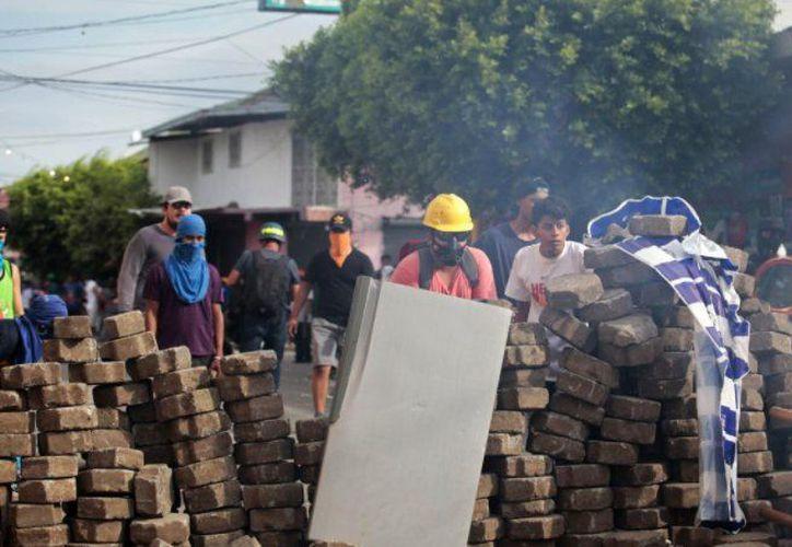 Estudiantes han protagonizado las principales manifestaciones en contra del régimen sandinista. (AFP)