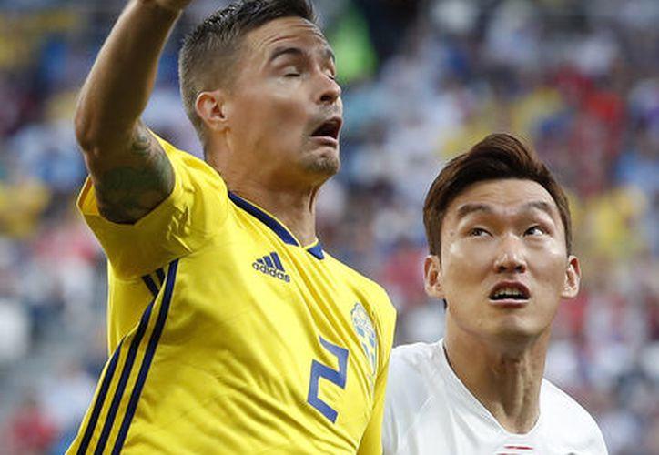 Suecia y Corea van 0-0 en su primer partido en este Mundial (Foto: AP)