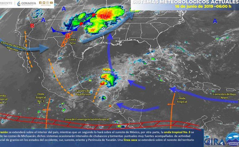 Pese a la nubosidad, no se epseran grandes probabilidades de lluvia. (Servicio Meteorológico Nacional)