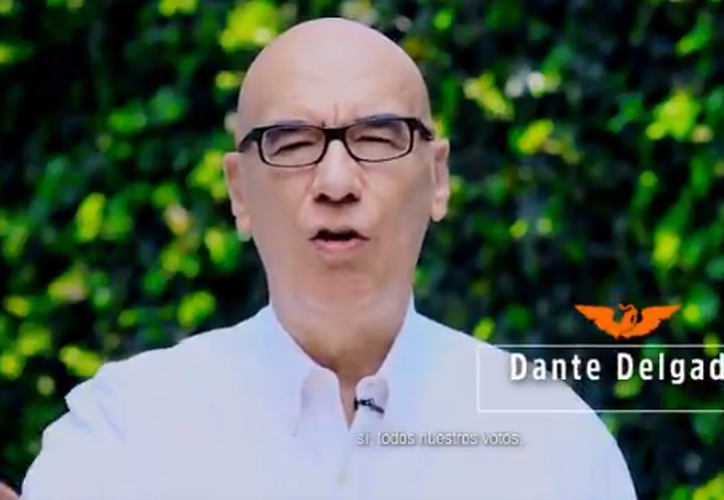Dante Delgado será el futuro coordinador de los senadores de Movimiento Ciudadano. (Captura)