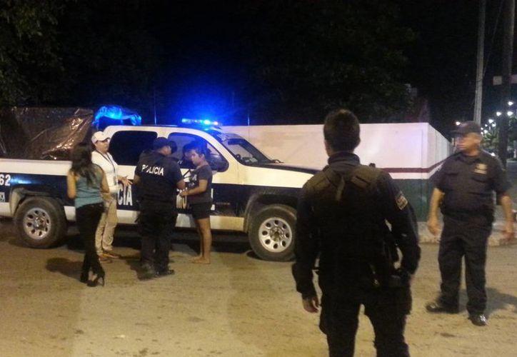 Tras la denuncia de las menores de edad, se registró una movilización para localizar a la camioneta, sin éxito. (Redacción/SIPSE)
