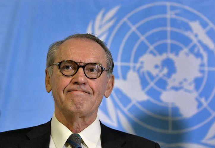Jan Eliasson, subsecretario de la ONU, aununció una campaña para que todo el mundo cuente con instalaciones sanitarias adecuadas. (EFE)