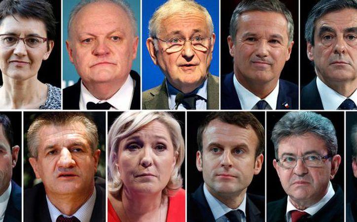Estos son los 11 candidatos a gobernar Francia. (El País)