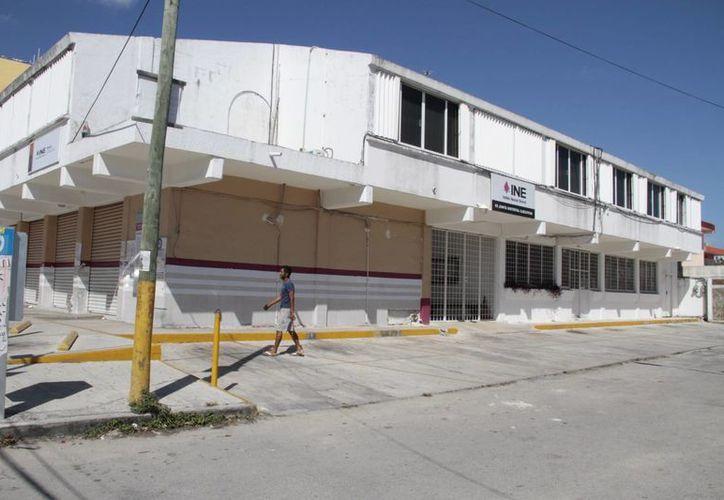 El INE informó que para el Distrito 03, se instalarán un promedio de 403 casillas. (Tomás Álvarez/SIPSE)
