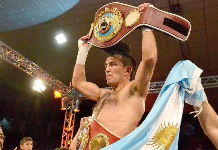 El argentino Omar Narváez, de 37 años, también ha sido campeón mosca OMB. (EFE/Archivo)