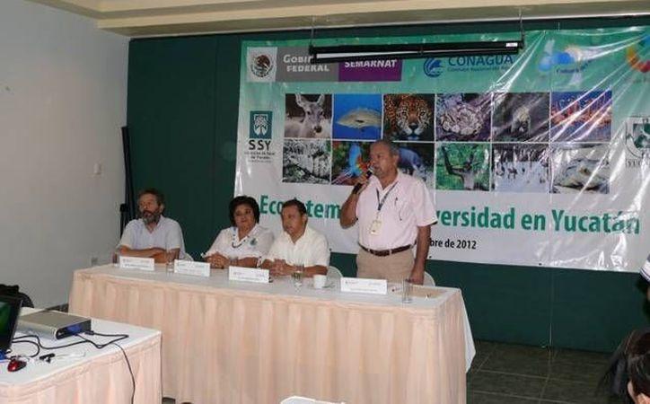 Inauguración del taller para promover el cuidado del agua en la Península de Yucatán. (Cortesía)