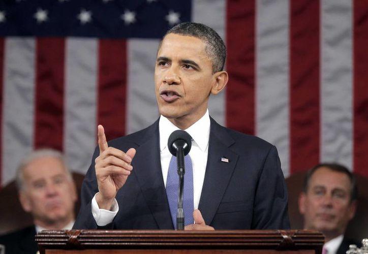 Obama ofrecerá mañana martes por la noche un mensaje sobre el Estado de la Unión. (Agencias)