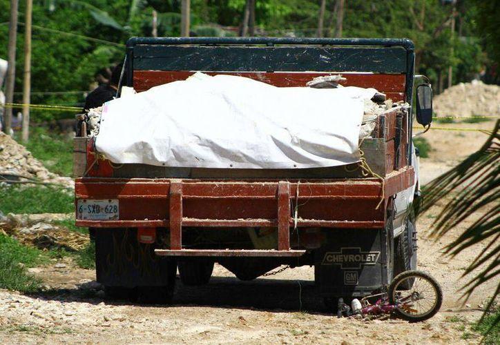 El accidente sucedió en la invasión 'La Jungla' ubicada en la región 200.