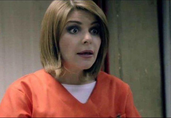 La actriz mexicana Itatí Cantoral se adueña de la prisión Litchfield. (Contexto/internet).