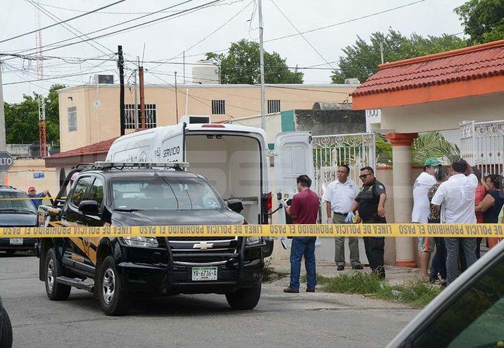 Tragedia familiar se vivió en la Colonia Mulsay cuando encontraron el cuerpo del señor Jorge. (Victoria González)