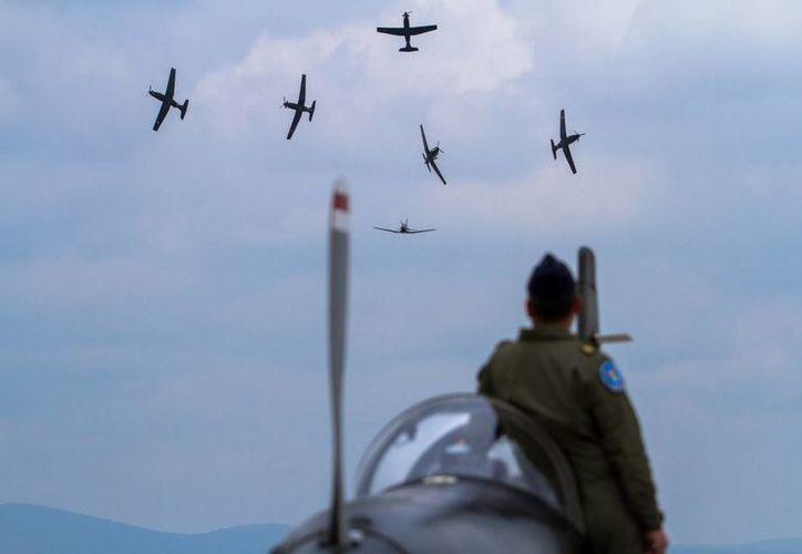 El nuevo titular de la FAM egresó como piloto aviador de la Escuela Militar de Aviación del Colegio del Aire en Zapopan, Jalisco. (Notimex/Foto de contexto)