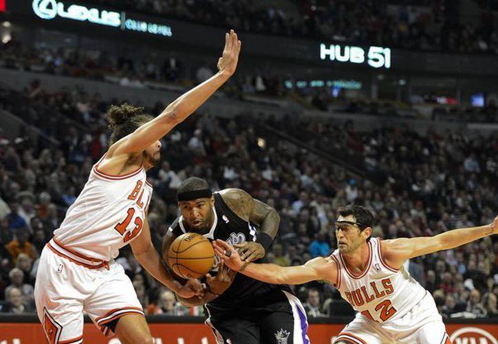 Cousins logró promedios de 16,3 puntos y 9,8 rebotes. (Foto: EFE)