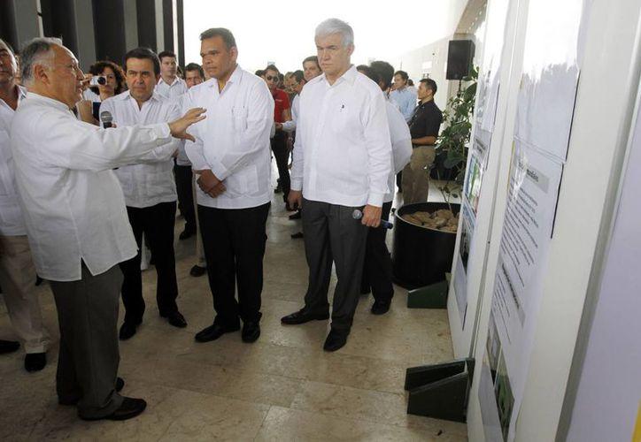 La visita del secretario de Economía, Ildefonso Guajardo Villarreal, a Yucatán. (SIPSE)