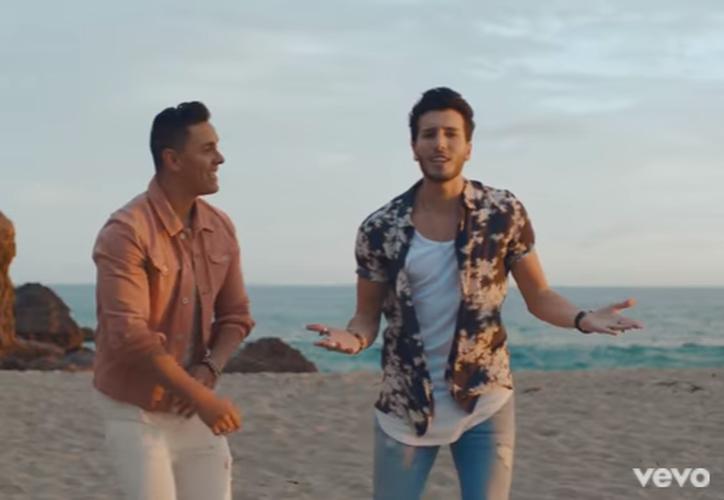 El cantante panameño Joey Montana y el colombiano Sebastián Yatra unieron su talento. (Captura YouTube).